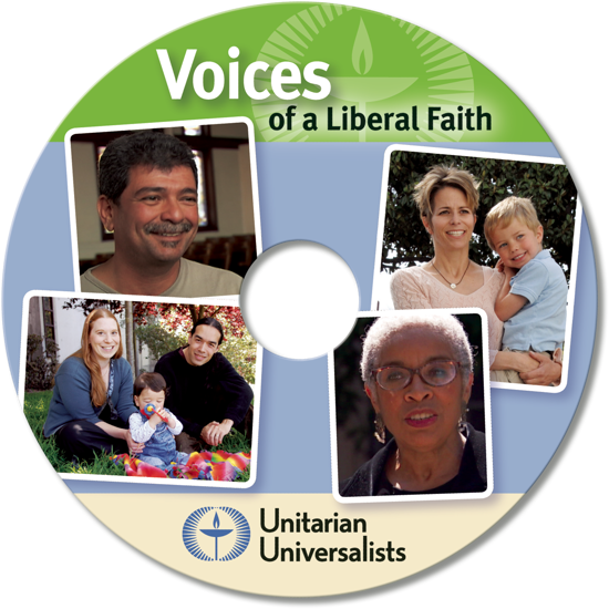 DVD Art: 'Voices of a Liberal Faith—Unitarian Universalists'