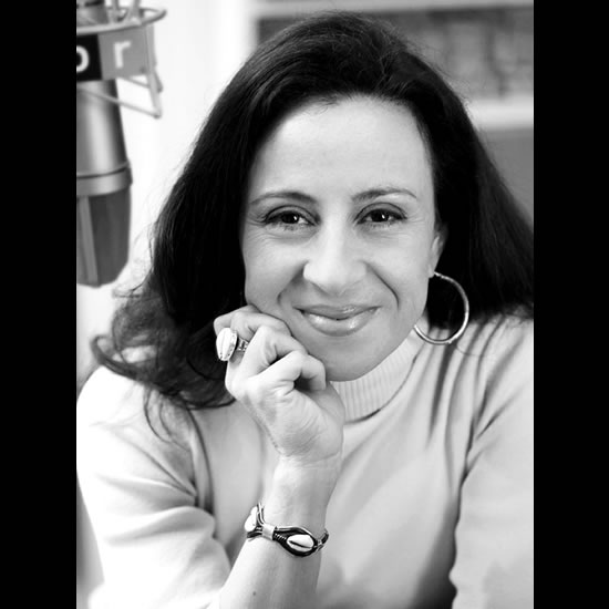 Maria Hinojosa, Broadcast Journalist Photo by Michael Paras