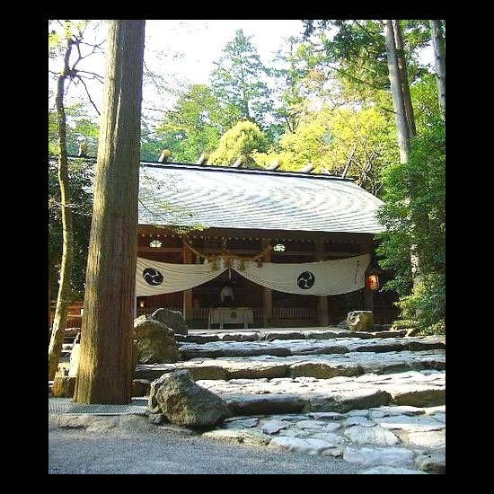Tsubaki Grand Shrine is a Shinto shrine in Suzuka, Mie Prefecture, Japan. From Wikimedia Commons