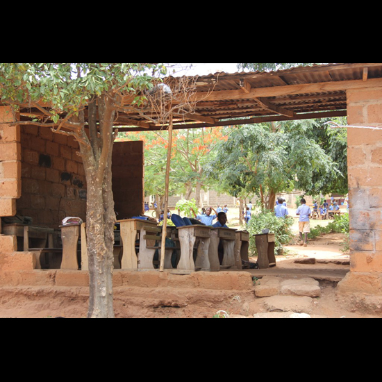 A classroom used by students in the Every Child is Our Child Program. Photo by UU United Nations Office.