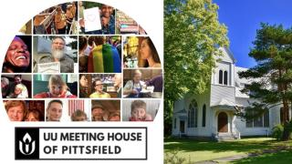 Composite image of UUMH Pittsfield people, activities and building