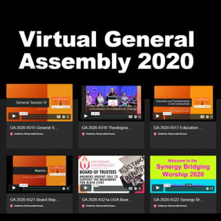 General Assembly 2020 Video Library with images of select video boxes