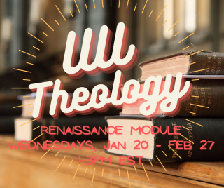 UU Theology Wednesdays, January 20 through February 27, 1-3pm Eastern Standard Time.