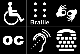 Access services available: wheelchair/scooter rentals; Braille Programs, ASL interpretation, open captioning, TTY