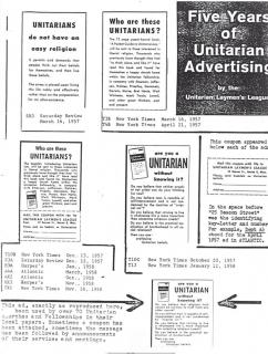 LEADER RESOURCE 4 Laymans League Advertising, Mid-20th Century