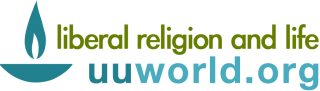 Logo: uuworld.org: liberal religion and life