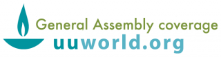 Logo: General Assembly coverage, uuworld.org