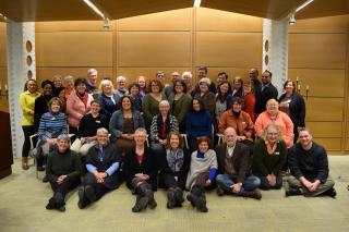 Group Photo of Congregational Life Staff in January 2018