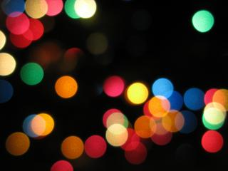 Abstract and unfocused multicolored lights.