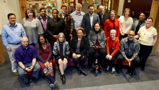Picture of the UUA Board of Trustees at its January 2020 Meeting
