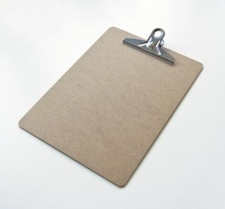 empty clipboard