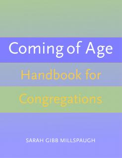Cover of Coming of Age Handbook for Congregations.
