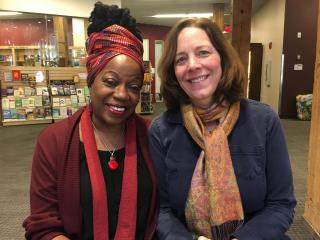 (from left) Dr. Janice Marie Johnson and Rev. Sarah Lammert