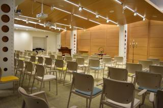 UUA Chapel with chairs
