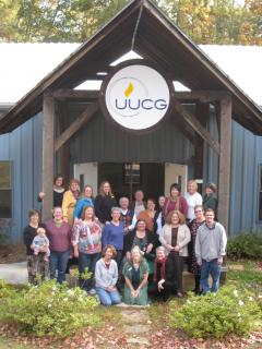 Group photo of the UU Congregation of Gwinnett, GA