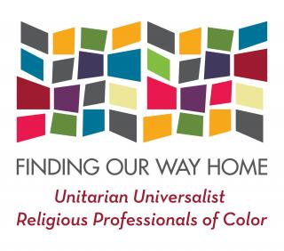 Logo for Finding Our Way Home Retreat for UU Religious Professionals of Color