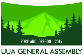 Logo for General Assembly 2015 in Portland Oregon.