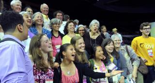 People of all ages enjoy General Assembly 2014 in Providence, Rhode Island