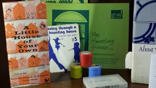 book, filmstrips, guides from Haunting House curriculum kit