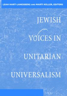 Book cover for Jewish Voices in Unitarian Universalism.