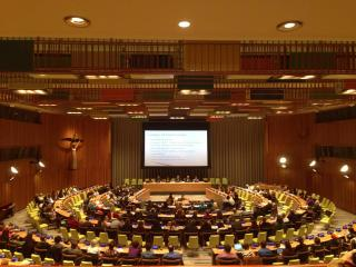 Keynote Address at the UN Trusteeship Council Chamber