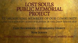 Lost Souls Public Memorial Project banner