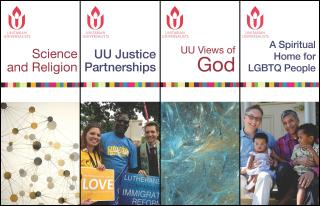 Collage of UUA pamphlet covers