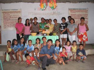 Unitarians of all ages gather in a congregation in the Philippines.