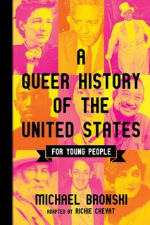 Cover of A Queer History of the United States for Young People