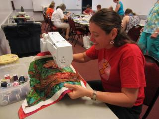 Sewing and crafts workshops.