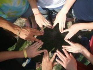 Summer Institute Youth Hands