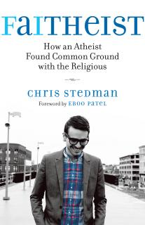 Book cover of Faitheist by Chris Stedman.