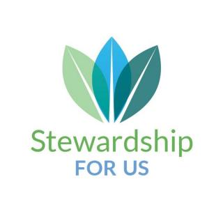 Stewardship for Us logo with three leaves
