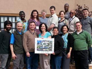UU Military Chaplains on Retreat in 2014