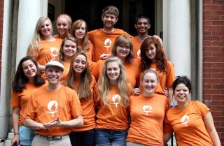 Participants in the UU College of Social Justice's inaugural National Youth Justice Summit, 2012
