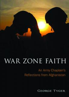 The cover of War Zone Faith by Rev. George Tyger.