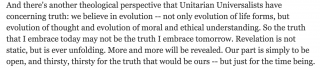 Marilyn Sewell from The Theology of Unitarian Universalists