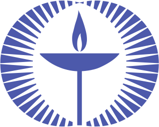 UUA Chalice (A) in Blue