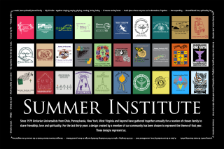 CER Summer Institute 40 year poster