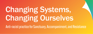 Banner for Changing Systems, Changing Ourselves
