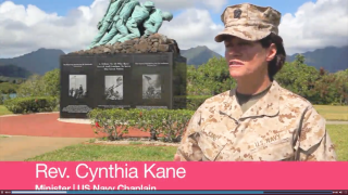 Rev. Cynthia Kane discusses her experiences as a military chaplain, as part of the Military Ministry Toolkit for Congregations
