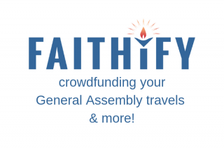 Faithify.org: crowdfunding your General Assembly travels and more