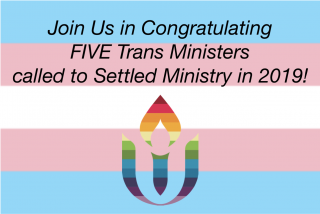 Congratulations to Our Newly-Called Trans Ministers!