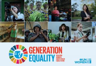 UN Women 2020 Generation Equality poster