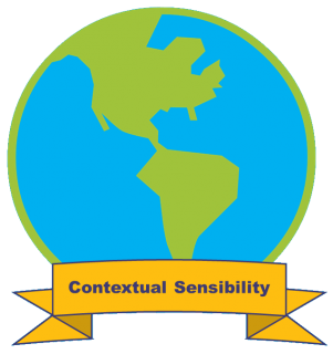 Graphic for Contextual Sensibility Badge.