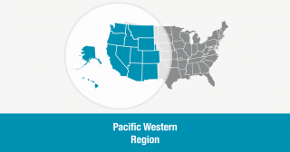 Pacific Western Region of the Unitarian Universalist Association (map)