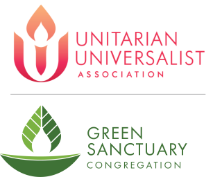UUA and Green Sanctuary logo lockup