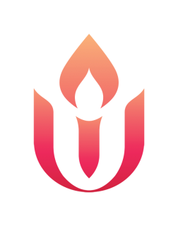 UUA Chalice Gradient Version (Preview) (red shading to orange)