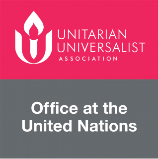 Logo for the Unitarian Universalist Office at the United Nations