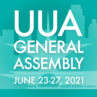 UUA General Assembly 2021 Avatar with dates
